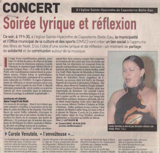 France antilles : concert lyrikado guadeloupe 9