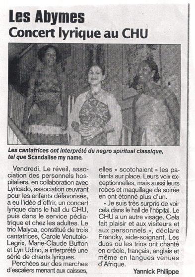 France antilles : concert lyrikado guadeloupe 10