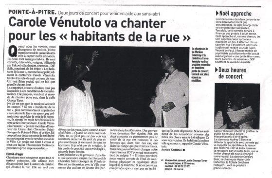 France antilles : concert lyrikado guadeloupe 14