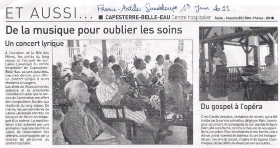 France antilles : concert lyrikado guadeloupe 1