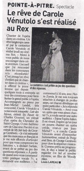 France antilles : concert lyrikado guadeloupe 16