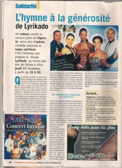 concert guadeloupe - lyrikado